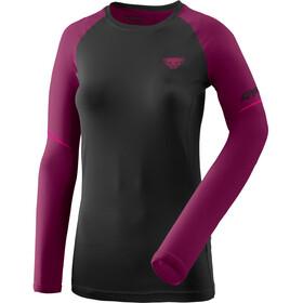 Dynafit Alpine Pro Koszulka z długim rękawem Kobiety, czarny/fioletowy